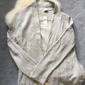 Anthropologie grey sweater